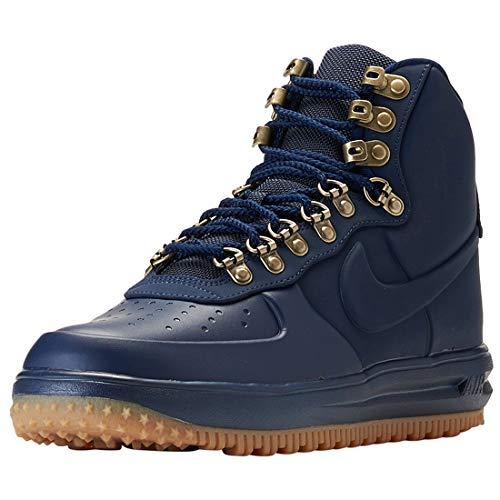 quality design a87f2 cebe9 Nike Herren Lunar Force 1 Duckboot '18 Fitnessschuhe Mehrfarbig  Obsidian/Gum Med Brown/