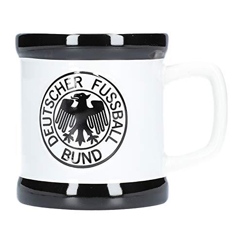 DFB Deutschland Retro Tasse Weiss Schwarz gebraucht kaufen  Wird an jeden Ort in Deutschland
