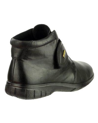 Cotswold Tew Mesdames étanche botte cheville non de sécurité Bottes Velcro Fixer Black