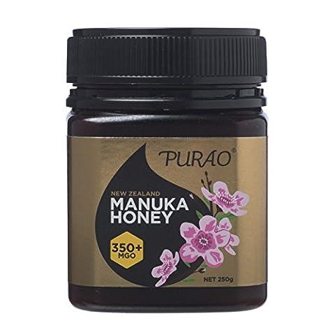 PURAO HOCHWERTIGER MANUKA HONIG aus Neuseeland MGO 350+ /12+ 250G
