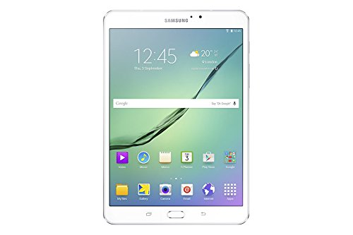 Price comparison product image Samsung Galaxy Tab S2 VE 8-Inch Wi-Fi Tablet, White, Octa-core 1.9 GHz, 3 GB RAM, 32 GB ROM, Android 6.0, UK Version
