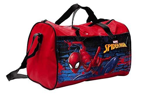 Borsa borsone spiderman uomo ragno marvel supereroe tote da viaggio bambino palestra cm. 38x20 h.23 - 57885