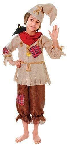 Fancy Me Jungen Raggy Vogelscheuche Büchertag Woche Halloween Kostüm Kleid Outfit 4-12 Jahre - 4-6 - Jungen Kostüm Vogelscheuche