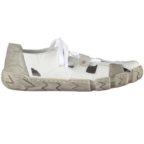 Rieker Hertha L0325-80, Baskets mode femme Blanc (Weiss/Grey)