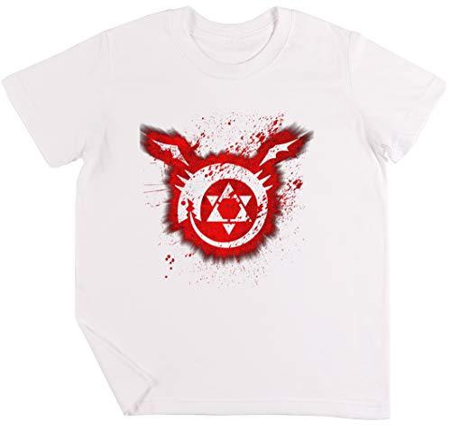 Ouroboros Kinder Jungen Mädchen Unisex T-Shirt Weiß