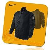 Nike Herren Barca FC Barcelona + Manchester United ManU Jacket Fan-Jacke Blouson, Größe:S;Farbe:459402-010 ManU