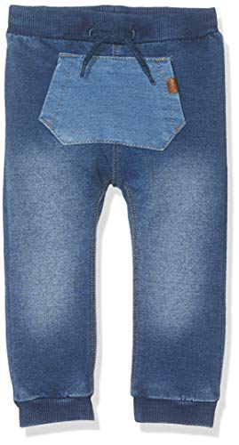NAME IT Baby-Jungen NBMROMEO DNMATO 2212 Pant Hose, Blau (Medium Blue Denim), (Herstellergröße: 80)