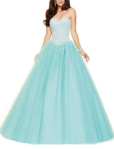 Bridal_Mall - Robe de mariage - ball gown - Femme Bleu - Aqua