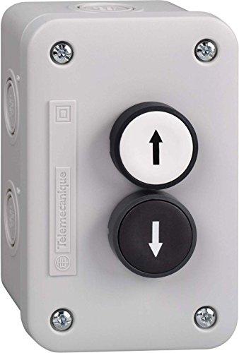 Schneider XALE2221 Aufbaugehäuse XAL-E, 1 S+Drucktaster, schwarz/weiß, 1 S -