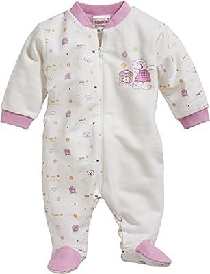 Schnizler Schlafoverall Interlock Bär, Oeko-Tex Standard 100, Pijama Para Bebés