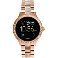 Fossil Gen 3 Smartwatch Q Venture Rose Gold-Tone Stainless Steel – Women's Smartwatch with Sparkly Details and Bluetooth Technology - Activity Tracker, Smartphone Notifications