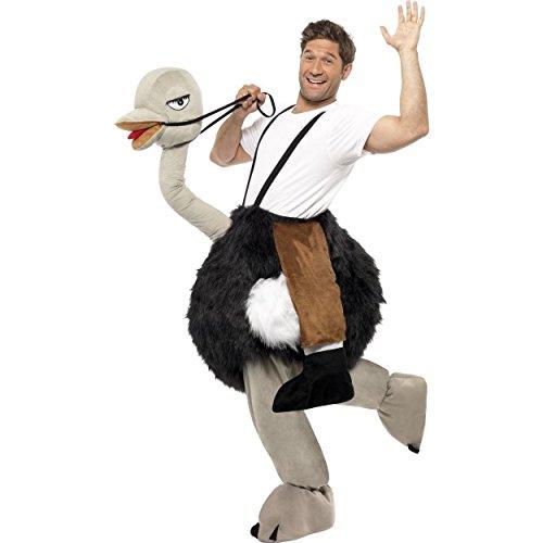 Strauß Kostüm mit falschen, hängenden (Beine Kostüm Strauß)