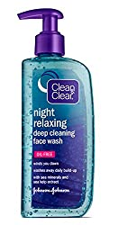 Clean&Clear Night Relaxing Deep Cleaning Face Wash, 8 Fluid Ounce