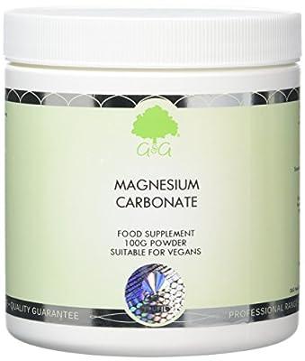 G&G Vitamins Magnesium Carbonate Powder from G&G Vitamins