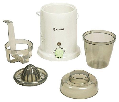 Scalda Biberon 80 W Bianco 3-in-1 che consente di sterilizzare e riscaldare biberon di tutte le dimensioni e di preparare spremute fresche B3