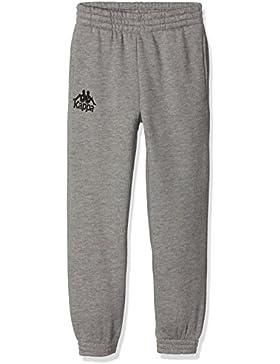 Kappa Casarano, Pantalones de Deporte para Niños, Gris, 6 Years (Manufacturer Size:Ys)
