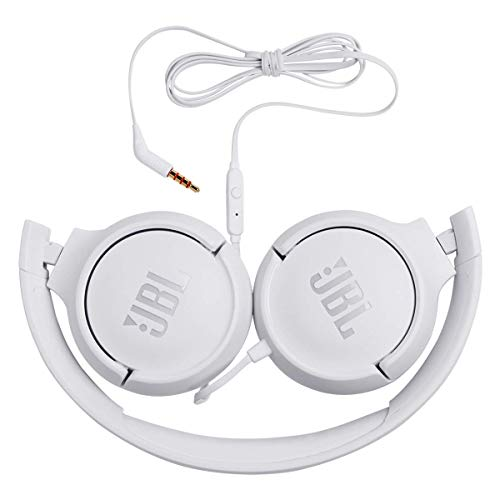 cd2488e5d70 Renewed) JBL TUNE500 Wired On-Ear Headphones One-Button Remote Mic ...