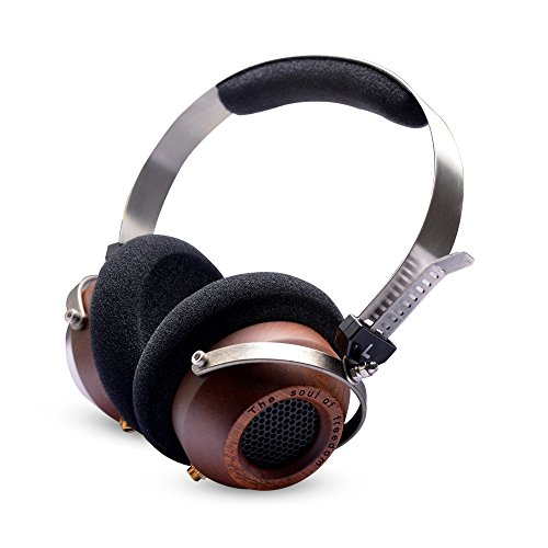 OKCSC (TM) Stereo super Bass retro-vintage estilo Noise Isolation Enhanced On-Ear Headphones (estilo a)