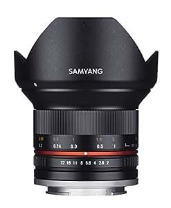 Samyang 12 mm F2.0 Manual Focus Lens for Fuji X - Black