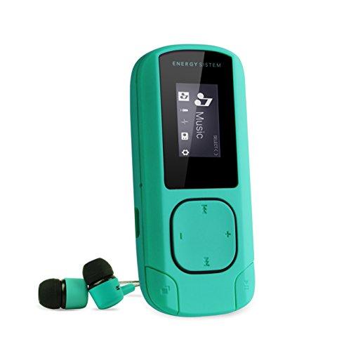 Energy Sistem Energy MP3 Clip Mint - Reproductor MP3 portátil, 8 GB,...