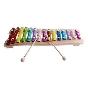 Rolimate bois 15 cl s notes chromatiques glockenspiel for Construction xylophone bois