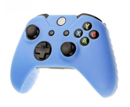 Custodia cover guscio gamepad controller joypad game pad skin per xbox one azzurra