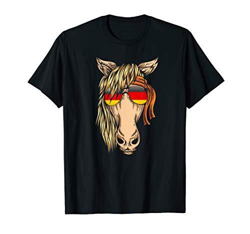Horse Bandana T Shirt for Horseback Riding Horse Lover T-Sh Crazy Horse Riding Apparel