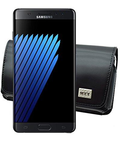 MTT Quertasche für Samsung Galaxy Note 7 Horizontal Tasche Ledertasche Handytasche Etui mit Clip und Sicherheitsschlaufe*