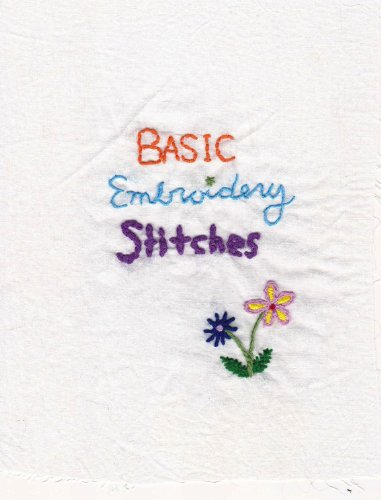Basic Embroidery Stitches (It's Totally Doable Book 1) (English Edition)