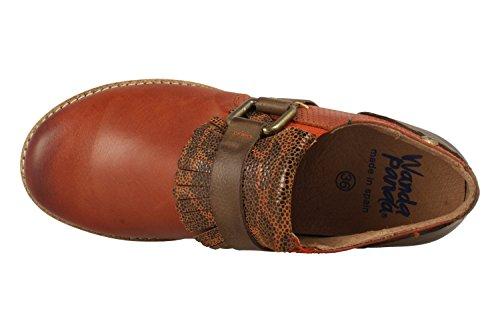 Wanda Shoe Panda Vega Brich-39 Red Rot