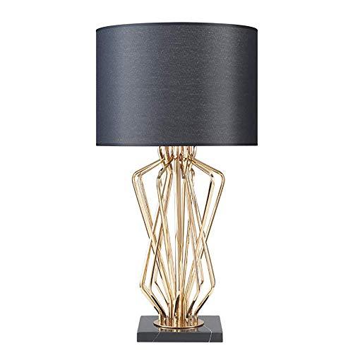 HYCy Nachtbeleuchtungslampe, einfache kreative Schlafzimmer-Leder, Moderne Bedside Counter Lampe Decorative Lamp Living Room Children es Room Office (inktet Led Bulb) - Leder-counter