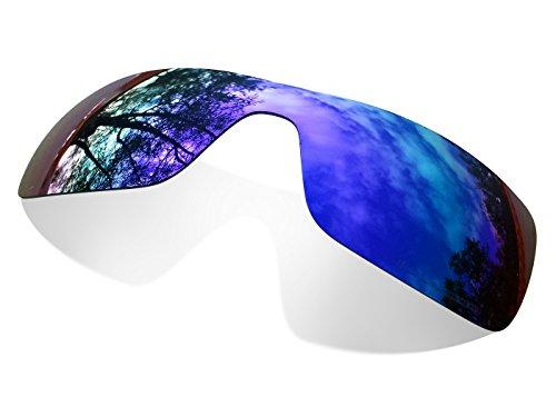 sunglasses restorer Kompatibel Erastzgläser für Oakley Oil Rig , Polarisierte Purple Linsen