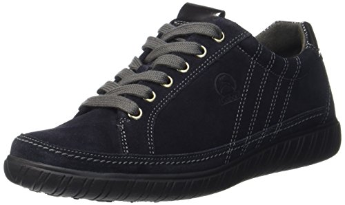 Gabor Shoes Damen Comfort Basic Derbys, Blau (46 Nightblue/Steel), 42 EU