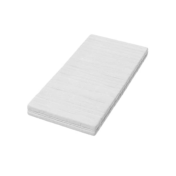 ACMA II TODDLER CHILDREN KIDS BED + FREE MATTRESS DRAWER WHITE 140x70 160x80 180x80 (140x70 cm, White - Sonoma Wood) ACMA Dimensions : 144 cm x 75 cm x 62 cm For safety all the edges of the bed are covered with a special PCV material The bed is proper for kids up to 100 kg 3