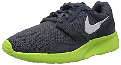 Nike 654473 001 Kaishirun Herren Laufschuhe Mehrfarbig  42 EUMehrfarbig (Dk Magnet Grey/White volt)