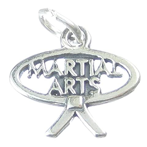 Playwell Martial Arts sterling Silber Charme, 925 x 1, Judo, Karate, Kung Fu CF4707 charms (Sterling Martial Arts)