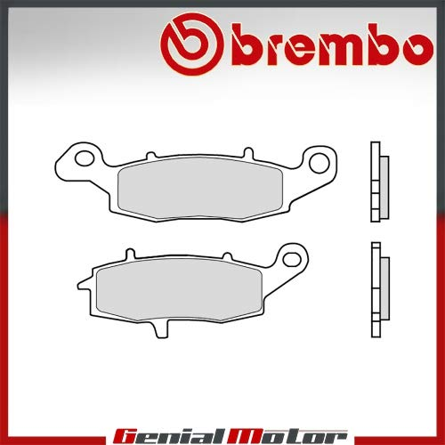 Pastiglie Brembo Freno Anter 07KA18.SA per ER-6N right 650 2006 > 2008
