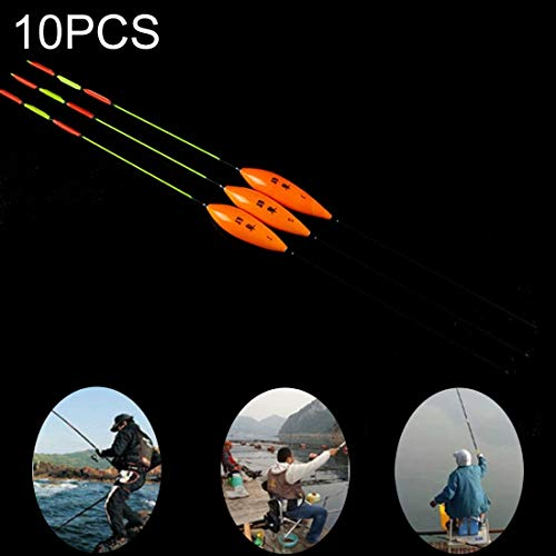 WARM home Draussen Waved1# Fischen Float Nano Floater Bobber 10PCS Werkzeug (Artikelnummer : Og6258j)