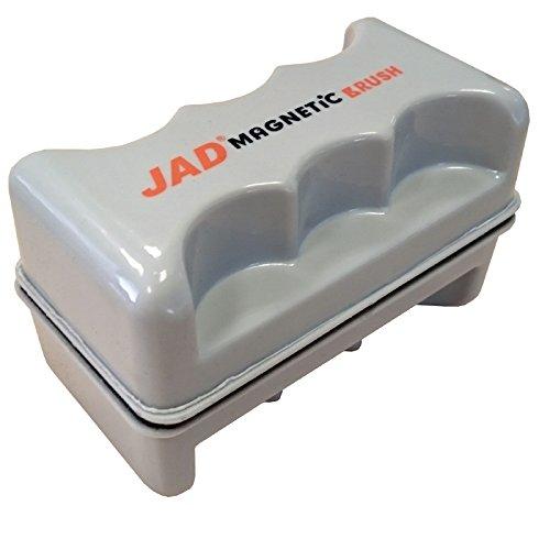 JAD fmb203a - Aquarium Magnet Scheibenreiniger Größe L Scheibenputzer bis 1,5cm Glasreiniger Glasmagnet Aquariummagnet
