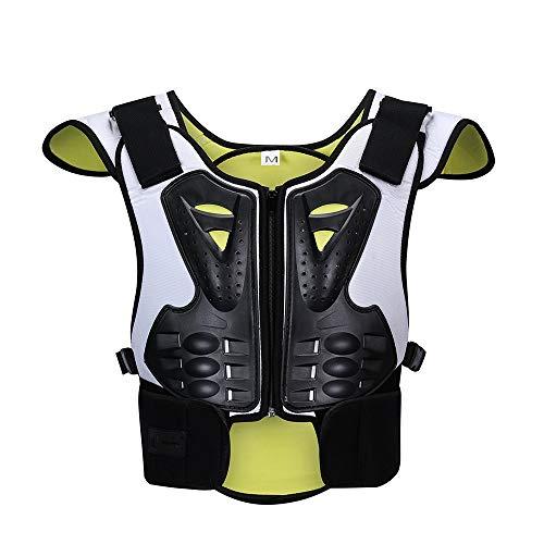 ZzheHou Motorrad-Schutzjacke Anti-Smooth-Ice-Ski-Extremsport-Schutzausrüstung for Kinder Zum Schutz Der Brust Motorrad-Schutzkleidung (Size : S)