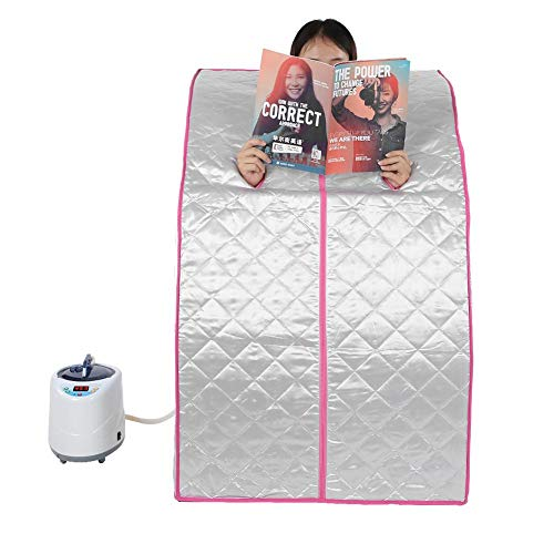 Tragbare faltende Dampfsauna, Hauptbadekurort-Dampfsauna-Zelt-Verlust-Gewicht, das Körper u. Gesichts-Badekurort-Maschine abnimmt(EU Plug) -