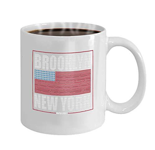 Special Coffee/Tea Mug.Birthday Gift For Men&Women,Mom,Dad,Sister,Boyfriend brooklyn new york typography print athletic clothes usa flag line design sport original apparel