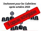 Coffeeduck 16 capsules compatibles Nespresso