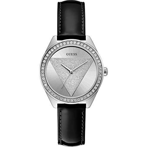 Guess orologio analogico quarzo donna con cinturino in pelle w0884l3