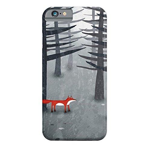 Cover iPhone 6s,TPU Gel Silicone Protettivo Skin Custodia Protettiva Shell Case Cover Per Apple iPhone 6 6S TheFoxandtheForest