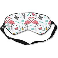 Eyes Mask Fashion Chile Red Flamingo Silk Mask Contoured Eye Masks for Sleeping,Shift Work,Naps preisvergleich bei billige-tabletten.eu