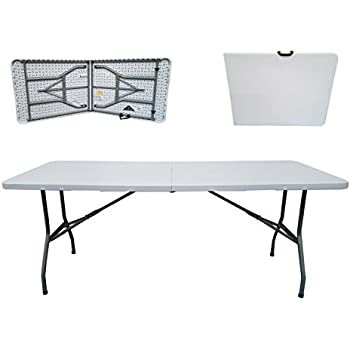 folding tables uk rectangular plastic top fold in half table 400 kg load capacity with