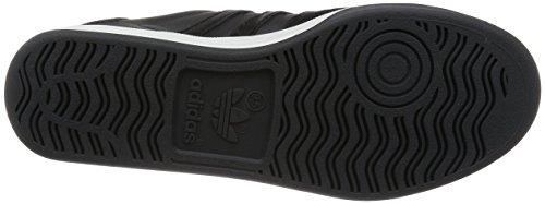 S81912CBLACKWMCOURT Adidas Sneakers Herren Leder Schwarz Schwarz