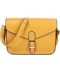 TOOGOO Femmes Sac a bandouliere en toile sac a bandouliere style simple sac a main quotidienne sac (gris)