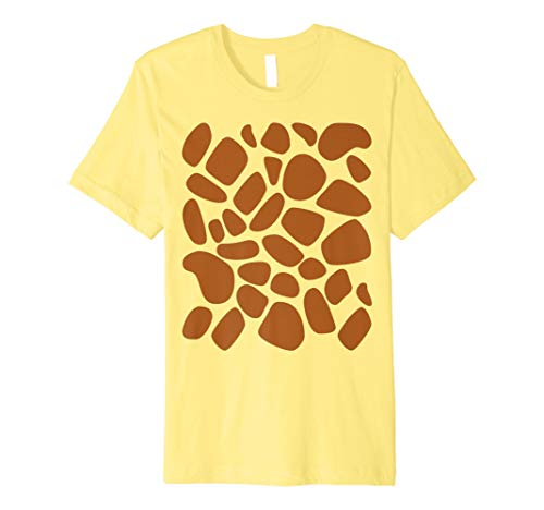 Giraffe Print T Shirt Muster Trick or Treat Jungle Tiere